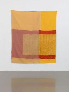 ROBERT RAUSCHENBERG    Mirage (Jammer), 1975    Sewn fabric    80 x 69 inches  (203.2 x 175.3 cm)    © The Robert Rauschenberg Foundation 2013/Licensed by VAGA, New York