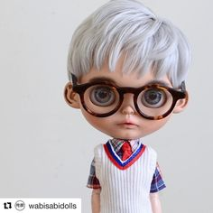 #Repost @wabisabidolls with @get_repost ・・・ A boy for @rodgerdollob11 #wabisabidolls #blythe #ブライス #blythecustom #blythedoll #blytheboy #blythelove #customblythe #blythecollector #customdoll #dollphotography #doll #takara #dollmaker #toyphotography #toycreativity #toy #cute #kawaii #artdollbjd #artdoll