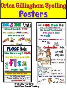 Help Struggling Spellers with this Pack it contains Spelling Rule Posters aligned with Barton Reading and Spelling Level 3. Use this as a supplement to your Orton Gillingham teaching.