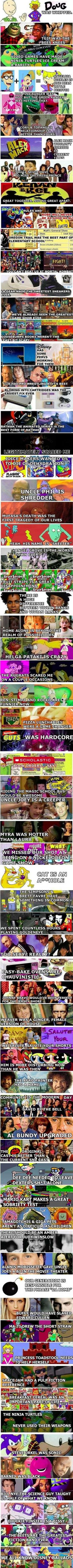 Being a 90's kid was awesome.