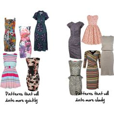 How to Find Patterns That Won't Date Quickly Be small to medium in size Be medium in contrast Be fairly simple in its design Be a stripe or an animal print that are not too large or obvious florals are not classisc Fashion Advice, Fashion Outfits, Womens Fashion, Fashion Ideas, Fashion Trends, Dress For You, Dress Up, Color Combinations For Clothes, Colour Combinations