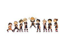 Haikyuu Chibi, Haikyuu Karasuno, Haikyuu Manga, Chibi Wallpaper, Haikyuu Wallpaper, Obito Kid, Anime Demon, Manga Anime, Fairy Tail Pictures