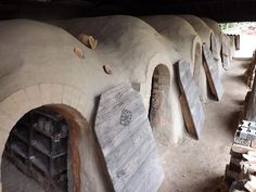 Mashiko Pottery by A Devonshire Potter.  Kiln.