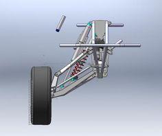 progressive suspension arm design