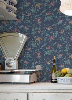 Papier peint tropical : toutes les nouveautés pour une déco exotique - Marie Claire Maison