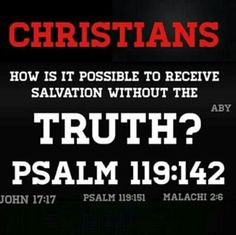 Are their tithes going to get them into heaven... without salvation in the truth of Christ?
