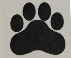 "Happy Deals - Black Paw Print Temporary Tattoos, 1.5""x1.5"" (1-Pack of 144"