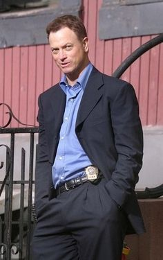 Gary sinise as Mac Taylor for fans of Mac Taylor.