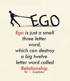 Ego Quotes : When you know how to apologize about something whether you are correct or incorrect Ego it only means that you Ego value more the relationship that you have with that person. Ego Quotes, Karma Quotes, Wise Quotes, Words Quotes, Motivational Quotes, Inspirational Quotes, Quotes Images, Quotes Pics, Silence Quotes
