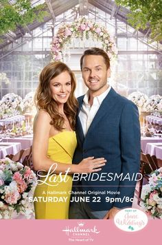 """Its a Wonderful Movie - Your Guide to Family and Christmas Movies on TV: The Last Bridesmaid - a Hallmark Channel """"June Weddings"""" Movie starring Rachel Boston & Paul Campbell Hallmark Channel, Películas Hallmark, Films Hallmark, Family Christmas Movies, Hallmark Christmas Movies, Family Movies, Holiday Movies, Men In Black, Nick Bateman"""