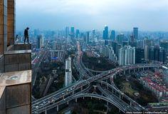 Гуанчжоу с высоты