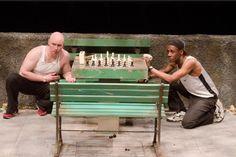 Mike Cherry & Ken Head in Teatro Vista's 'Fish Men' and the Goodman Theatre, Chicago