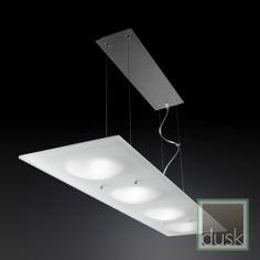 Grok Duna Optic Glass Pendant Light - 20-0326-Y6-E9