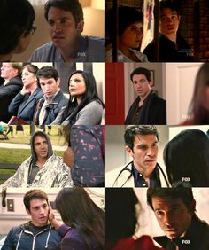 The Mindy Project. Danny's stolen glances.