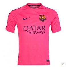 Camiseta entrenamiento FC Barcelona 2014 - Rosa 7f6fdb447d27c
