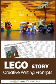 These FREE Printable LEGO Story Creative Writing Prompts help to document a child's imagined stories during creative, hands-on play. Creative Writing Stories, Creative Writing For Kids, Lego Creative, Creative Teaching, Journal Writing Prompts, Writing Prompts For Kids, Writing Lessons, Kids Writing, Teaching Writing