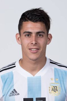 Cristian Pavon of Argentina poses for a portrait during the official FIFA World Cup 2018 portrait session on June 12 2018 in Moscow Russia Argentina Football Team, Fifa World Cup 2018, Moscow Russia, Poses, Portrait, David, Collection, Amor, Football Pictures