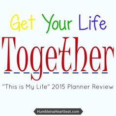 Get your life together with this beautiful planner especially for busy moms!