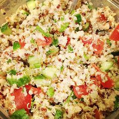 Kitchen Queen Eats Clean: Clean Eating Quinoa Tabbouleh Salad