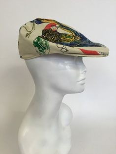 Parrot eats tail cap- Size M Nautical Knots, Men's Hats, Hats For Men, Parrot, Captain Hat, Eat, Fashion, Moda, Parrot Bird