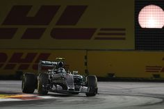 """P4 for Nico and a DNF for Lewis to end a difficult weekend in Singapore """"That…"""
