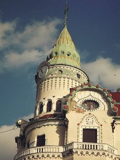 The Black Eagle Palace, Oradea city Romania.