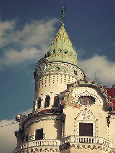 The Black Eagle Palace, Oradea city Romania.