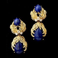 lapiz lazuli and diamonds