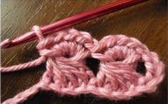 Patrones Crochet: Punto Media Roseta Crochet Tutorial