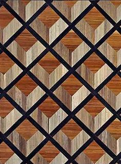 Feau & Cie-boiserie-modern-the modern Painted Floors, Wood Paneling, Intarsia Woodworking, Woodworking Projects, Parquetry, Wood Mosaic, Wood Carving Patterns, Floor Patterns, Wood Cutting Boards