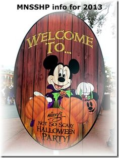 Mickey's Not-So-Scary Halloween Party - Travel With The Magic | Travel Agent | Disney Vacation