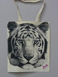 Aida   Tiger (Natural Bag)