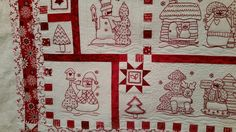 Snowman Collector quilt made by Lynn G. Longarm quilted by Le Ann Weaver of Persimmonquilts.com