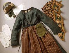 Folklig modedräkt. Foto: Birgit Brånvall, © Nordiska museet