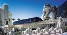 DCC Doppelmayr Cable Car is an Engineering and Manufacturing Company of Cable Cars which are a form of Automated People Mover (APM). Shown here in Mandalay Bay, Las Vegas, Nevada, USA.