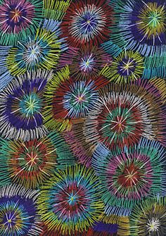 New Year's Eve fireworks - Easy Crafts for All Winter Art Projects, Winter Crafts For Kids, Art For Kids, How To Draw Fireworks, Fireworks Craft For Kids, Fireworks Design, Fireworks Art, Art Education Lessons, Art Lessons