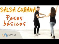 Pasos básicos de la Salsa Cubana - YouTube