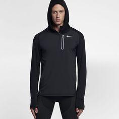 Nike Therma Sphere Element Hybrid Men s Running Hoodie Size Medium (Black)  Athletic Gear 053dc5d05