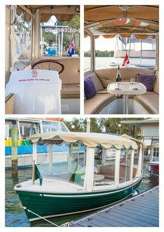 Malu Os Luxury Electric Small Boat Hire Noosa.
