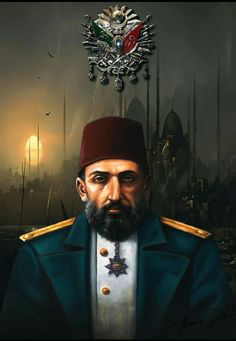 Sultan Abdülhamid Han Wallpa per Turkish Soldiers, Turkish Army, Empire Memes, Empire Quotes, Mehmed The Conqueror, Sultan Ottoman, Empire Wallpaper, Turkish Architecture, Empire Logo