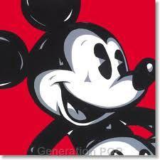 Pop art - Mickey Mouse :)