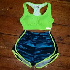 Fila sport bra lime green This is a size medium sports bra lime green. Fila Other