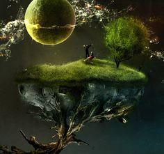 40 Fotos surrealistas gracias a la manipulación