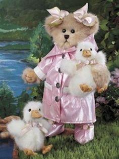 Teddy Bear with ducks