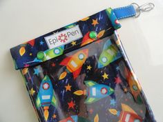 XL Epi Pen Case w/ See Through Front and Swivel by PillowSewCute, $14.95