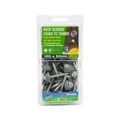 Find Zenith x Galvanised Dome Washer Head Roof Screws - 50 Pack at Bunnings Warehouse. Visit your local store for the widest range of building & hardware products. Timber Battens, Timber Roof, Fibreglass Roof, Washer, 50th, Packing, Palace, Seal, Products