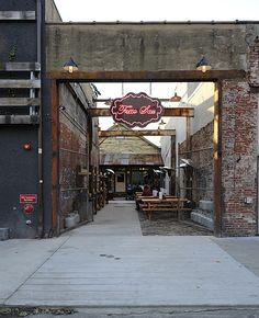 Fette Sau Philadelphia | neon sign, industrial style, cafe, eatery