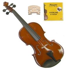 GRACE GV20 14 Size Solid Wood Hand Made Violin with Hard CaseBowRosin2 Sets Strings2 Bridges -- More info could be found at the image url.Note:It is affiliate link to Amazon. #95likes