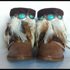 Apache Style Boots // Cowboy Boots // Boho Boots OR by MMLstudio, $200.00
