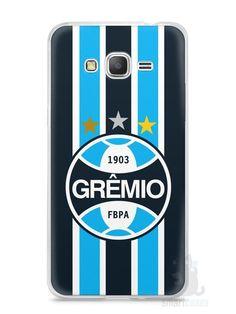 Capa Samsung Gran Prime Time Grêmio - SmartCases - Acessórios para celulares e tablets :)